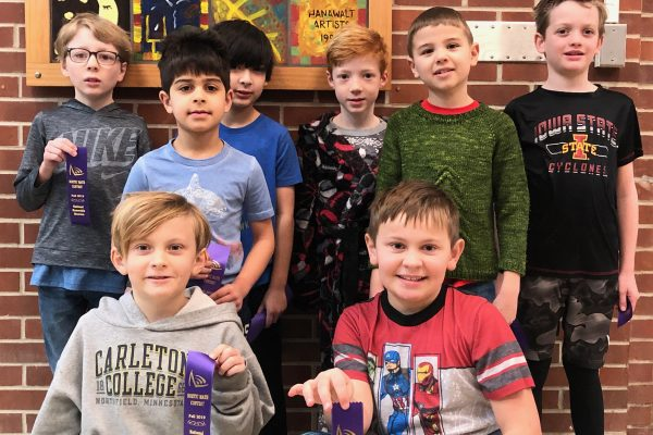 Hanawalt Students Compete in the Noetic Learning Math Contest