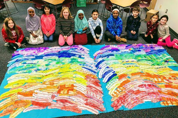 Unveiling of Hanawalt's Collaborative Art Project
